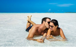 Honeymoons, Couple on Beach